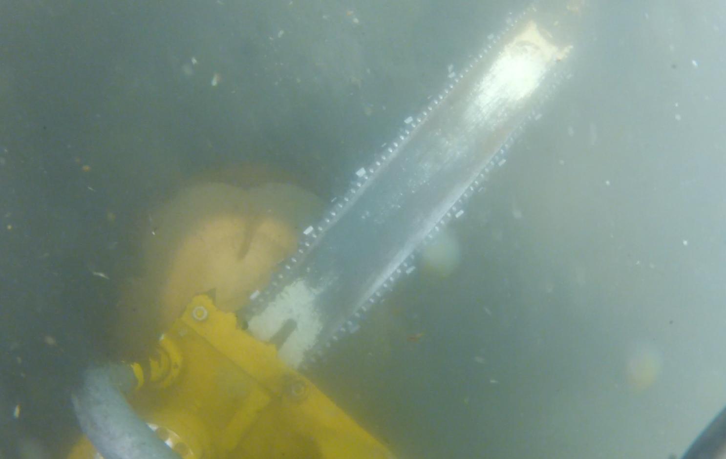 Unterwasser Kettensäge